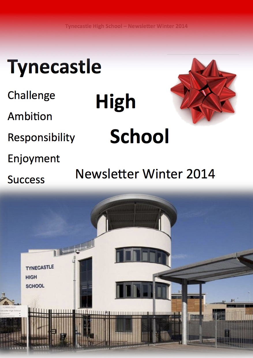 Tynecastle Newsletter Winter 2014