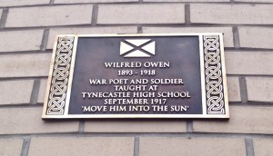 Wilfred Owen Plaque