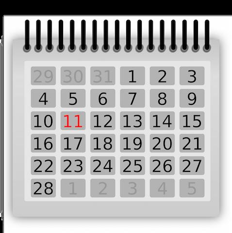 PE Calendars 2014-2015