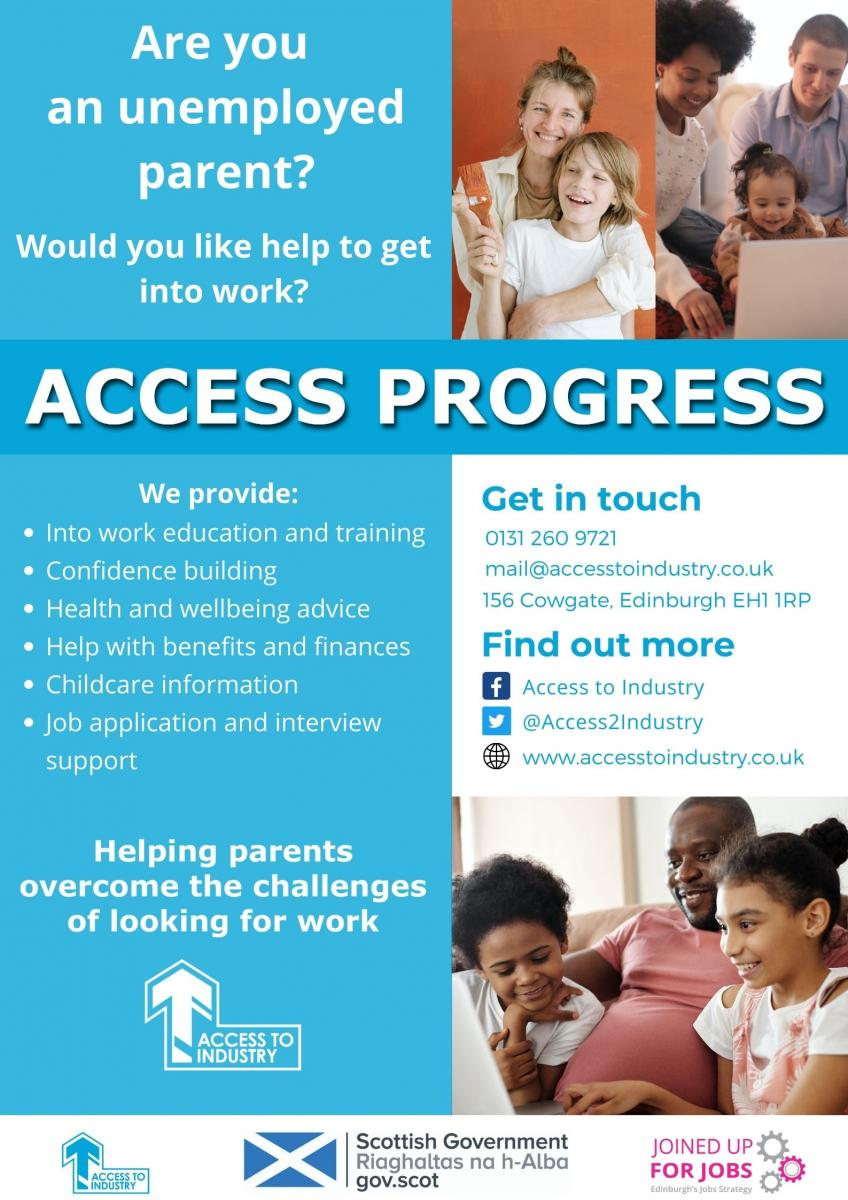 Access Progress Poster - Front v.1