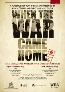 When the War Came Home poster